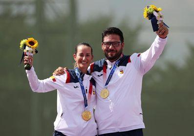 """Fátima Gálvez: """"El oro es un sueño hecho realidad"""""""