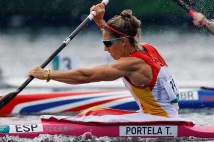 Teresa Portela clasificada para las semifinales de K1 200