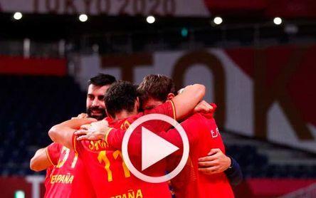 Suecia 33-34 España: Un final brutal y... a semifinales