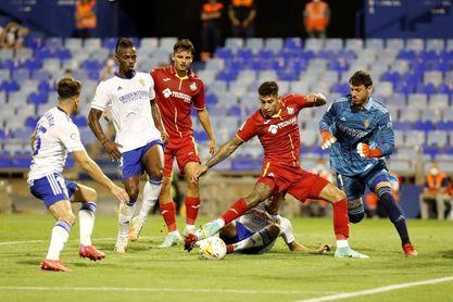 0-0. El Getafe se lleva el Memorial Carlos Lapetra en los penaltis