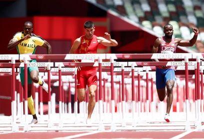 Asier Martínez a la final de 110 m vallas en sus primeros Juegos