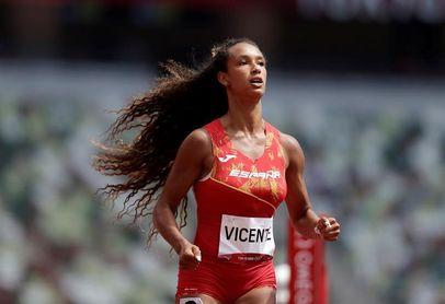 María Vicente comienza el heptatlón con 13.44 en 100 m vallas