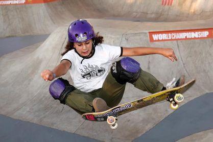 La skater Julia Benedetti no logra clasificarse para la final