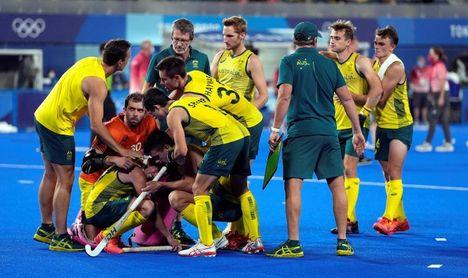 1-1. Bélgica gana su primer oro por penaltis (3-2) frente a Australia