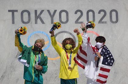 El australiano Palmer, campeón olímpico de 'park', el brasileño Barros, plata
