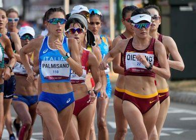 Palmisano nuevo oro para Italia en 20 km marcha, Sandra Arenas plata