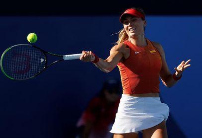 Paula Badosa apeada del torneo de Montreal por la canadiense Rebecca Marino