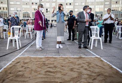 """Peleteiro celebra con su """"familia"""" el bronce de Tokio"""