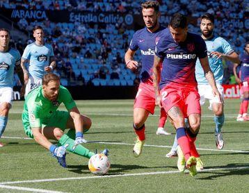 Oblak, el portero con más partidos de la historia del Atlético