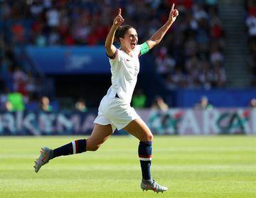 Carli Lloyd, medalla de bronce con Estados Unidos en Tokio, anuncia su retiro