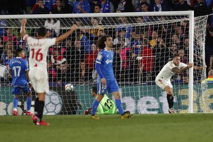 El Sevilla venció en tres de sus cuatro últimas visitas al Getafe