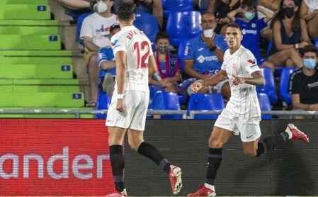 Getafe CF 0-1 Sevilla FC: Lamela cae de pie y da el liderato en un duelo para muy futboleros
