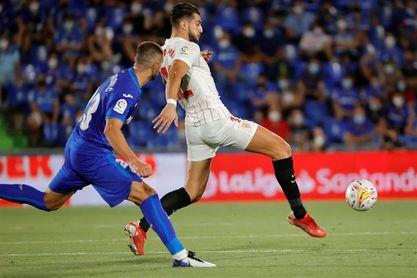 0-1. Erik Lamela pone líder al Sevilla