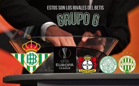 Grupo complejo para el Betis para comenzar la ruta hacia la final de Sevilla