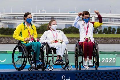 Eva Moral, debut paralímpico con sabor a bronce