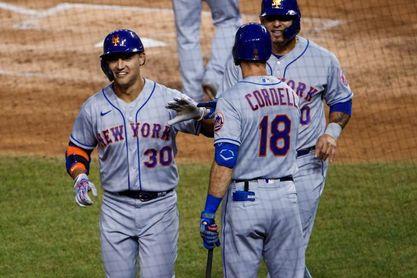 3-1. Conforto marca la victoria de los Mets sobre los Marlins