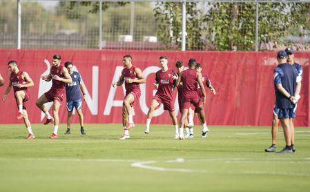 Penúltima sesión en el Sevilla antes de gozar de tres días de descanso
