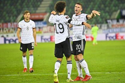 0-2. La nueva Alemania de Flick gana pero no convence
