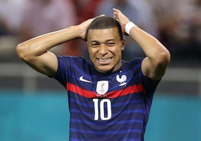 Mbappé, baja de la selección de Francia por problemas musculares