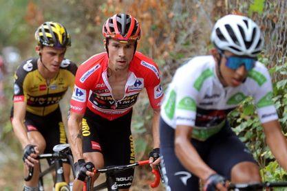 """Roglic: """"Estoy feliz por haber terminado las etapas de montaña"""""""