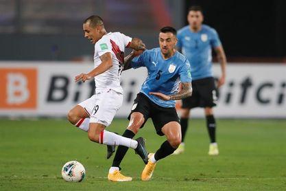 1-1. Uruguay sale ileso de Lima ante un Perú que sigue sin ganar en casa