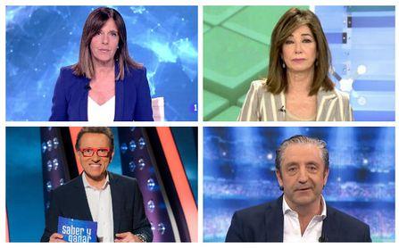 De Ana Blanco a Jordi Hurtado pasando por Ana Rosa o Pedrerol, ¿Quién dejará la televisión primero?