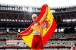 Iván Cano debuta en Tokio con un salto de plata