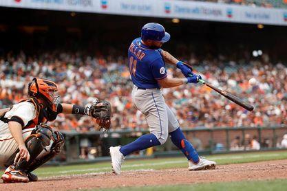 6-2. Pillar remolca con doble la victoria de los Mets