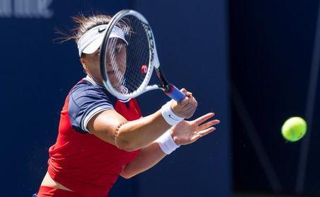 Andreescu llega a cuarta ronda con marca perfecta y Sakkari elimina a Kvitova