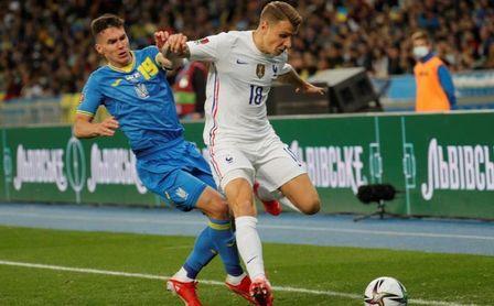 1-1. Francia encadena otro empate ante Ucrania pero afianza su primer puesto