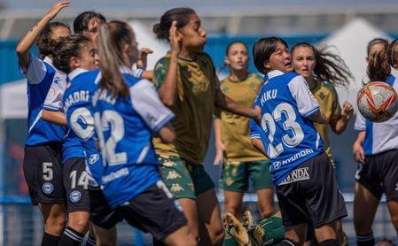 El Betis Féminas no consigue amargar el debut en Primera del Alavés.