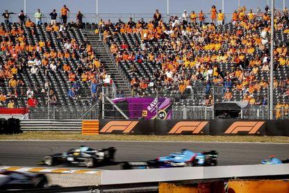 'Checo' Pérez y Latifi saldrán desde el 'pit lane' en el GP de Paises Bajos en Zandvoort
