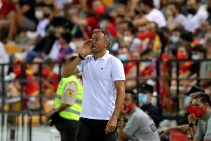 """Luis Enrique: """"Podíamos haber marcado algún gol más"""""""