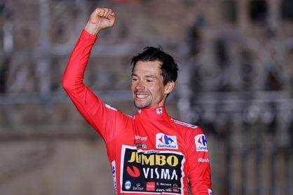 Roglic rubrica con letras de oro su tercera Vuelta consecutiva