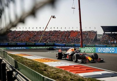 Verstappen nuevo líder tras ganar el Gran Premio de Países Bajos
