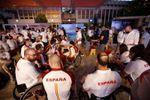 Los paralímpicos españoles, recibidos como héroes en Madrid