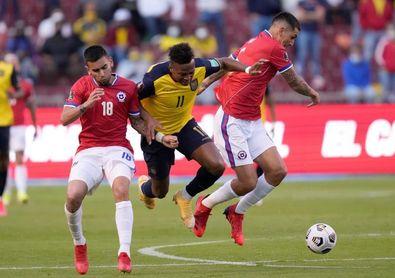 0-0. Los cambios le fallan a un Ecuador que no pasa del empate con Chile