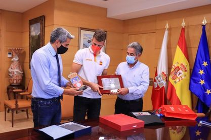 Ernesto Goribar aspira en un futuro a representar a España en unos Juegos Olímpicos