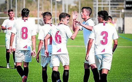 El Sevilla FC inscribe a 40 futbolistas para la UEFA Youth League