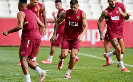 Con la mira puesta en el RB Salzburgo y con los internacionales a tope