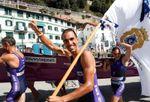 Santurtzi acaba con la hegemonía de Hondarribia en la Bandera de La Concha
