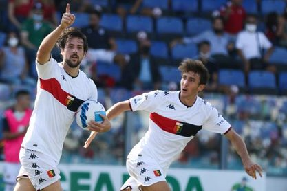El Génova, con Vásquez en el banquillo, remonta y gana 2-3 al Cagliari