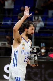 Sergio Llull, MVP de la final de la Supercopa