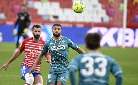 Horario y dónde ver en TV y online el Granada-Betis, que cierra la cuarta jornada en LaLiga