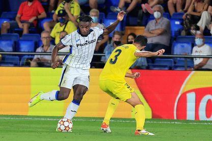 2-2. El Villarreal vuelve a la 'Champions' con sufrido empate ante Atalanta
