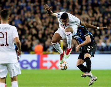 1-1. El PSG de Messi-Neymar-Mbappé no puede con el Brujas