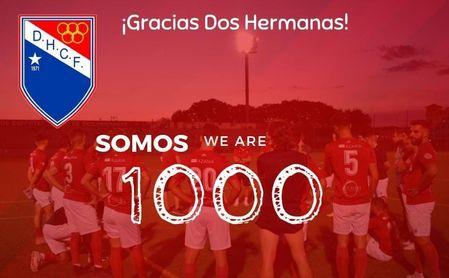 El Atlético Dos Hermanas CF renace y ya cuenta con 1.000 socios