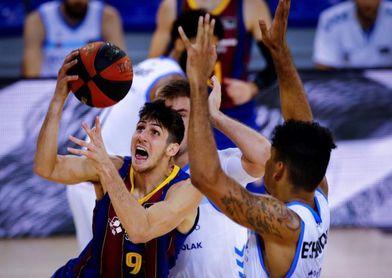 Leandro Bolmaro paga su cláusula de salida al Barça para jugar en la NBA