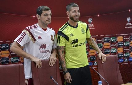 """Casillas sobre Ramos: """"Siempre que un amigo se va cuesta verle en otro club"""""""