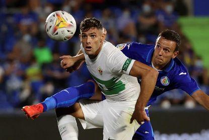 Lucas Boyé no entrena con el grupo y tiene complicado jugar ante el Levante
